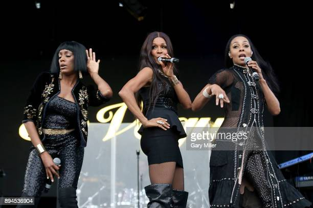 Rhona Bennett Cindy Herron and Terry Ellis of En Vogue perform in concert with Phantogram during Day For Night festival on December 17 2017 in...