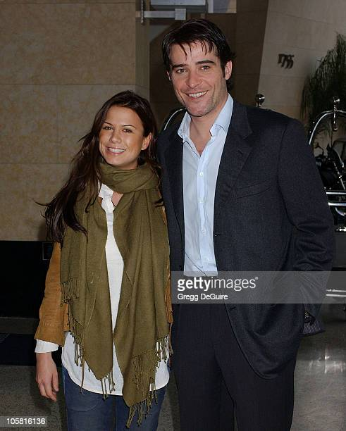 Rhona Mitra and Goran Visnjic during 2004 Cable Press Tour Day 2 at Renaissance Hollywood Hotel in Hollywood California United States