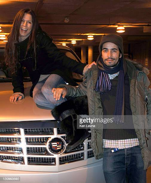 Rhona Mitra and Mathieu Schreyer during 2006 Park City General Motors in Park City Rhona Mitra and Mathieu Schreyer in Park City Utah United States