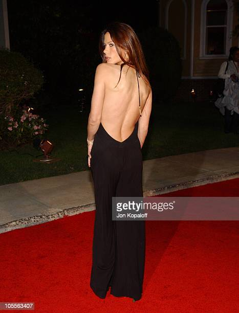 Rhona Mitra during 2005 ABC Winter Press Tour Party Arrivals at Universal Studios in Universal City California United States