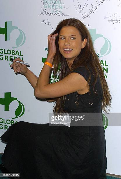 Rhona Mitra during 8th Annual Green Cross Millennium Awards at St. Regis Hotel in Los Angeles, California, United States.