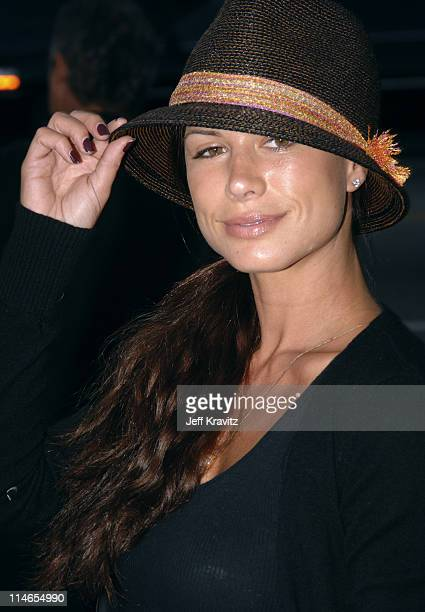"""Rhona Mitra during """"Rize"""" Los Angeles Premiere - Arrivals at Egyptian Theatre in Hollywood, California, United States."""