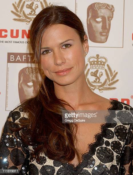 Rhona Mitra during The 2006 BAFTA/LA Cunard Britannia Awards Arrivals at Hyatt Regency Century Plaza Hotel in Los Angeles California United States