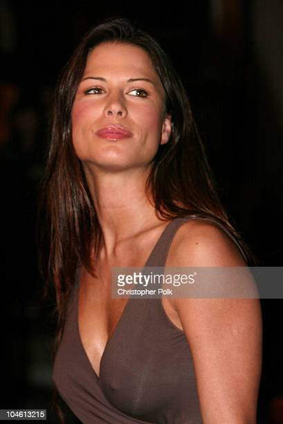 Rhona Mitra during The Life Of David Gale Special Screening at Universal Studios Hollywood CityWalk Cinemas in Universal City CA United States