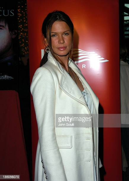 """Rhona Mitra during USA Network's """"Spartacus"""" World Premiere - Red Carpet Arrivals at Director's Guild of America in Los Angeles, California, United..."""