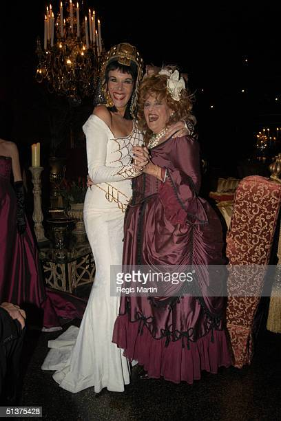Rhonda Burchmore and Lillian Frank arrive at the Number 12 in Melbourne for A Right Royal Affair A sumptuous evening of dining and dancing in aid of...