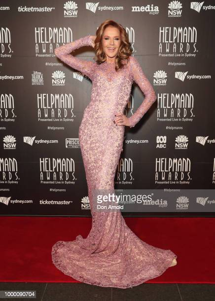 Rhonda Burchmore arrives at the 18th Annual Helpmann Awards at Capitol Theatre on July 16 2018 in Sydney Australia