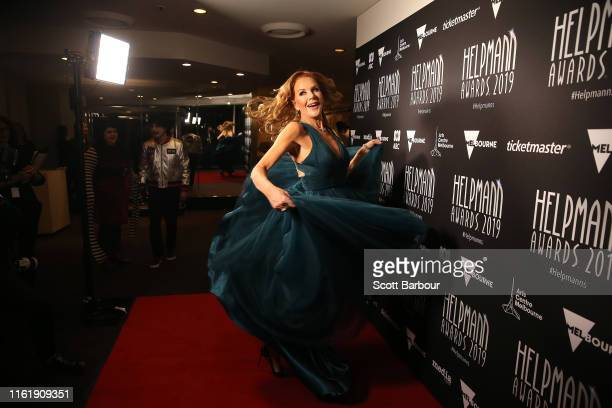 Rhonda Burchmore attends the 19th Annual Helpmann Awards Act I at Melbourne Arts Centre on July 14 2019 in Melbourne Australia