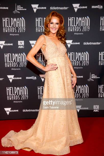 Rhonda Burchmore attends the 19th Annual Helpmann Awards Act II at Arts Centre Melbourne on July 15 2019 in Melbourne Australia