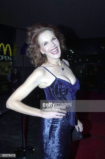 Rhonda Burchmore pictured during the MO Awards in June 2000 in Sydney Australia