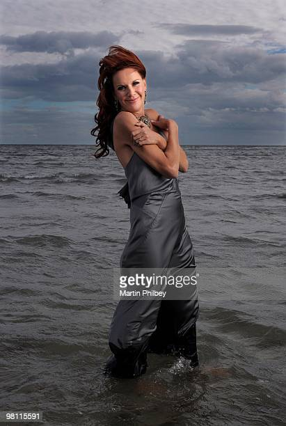 Rhonda Burchmore poses for a portrait session on 22nd February 2007 in Melbourne Australia