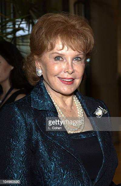 Rhonda Fleming during 2003 Society of Singers ELLA Awards Arrivals at The Beverly Hilton in Beverly Hills California United States