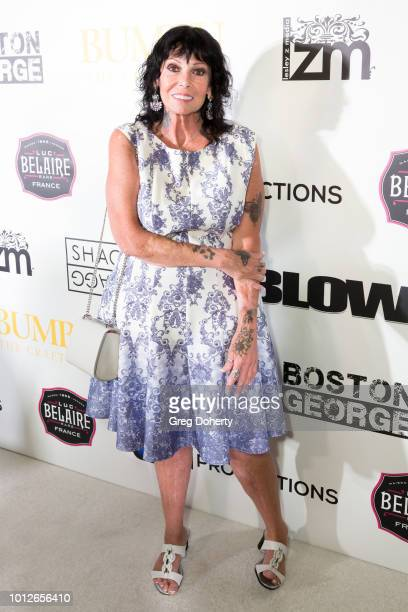 Rhonda Jung attends George Jung's Birthday Celebration And Screening Of Blow at TCL Chinese 6 Theatres on August 6 2018 in Hollywood California