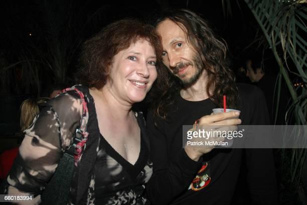 Rhonda Markowitz and Nicholas Sarubiansky attend Leee Black Childers 64th Birthday at 168 Delancey on July 24 2009 in New York City