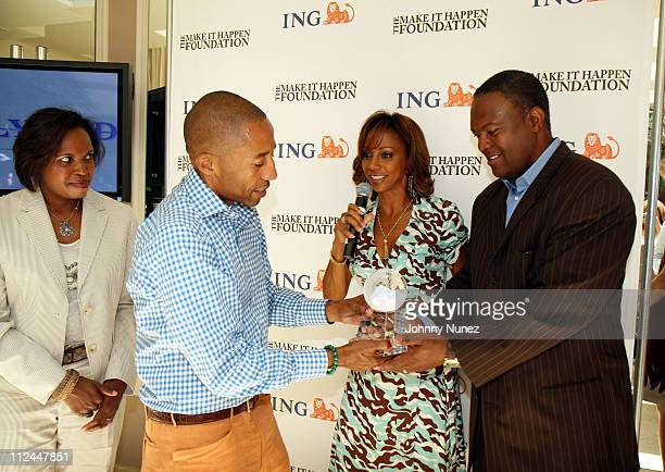Rhonda Mims Kevin Liles Holly Robinson Peete and Rodney Peete