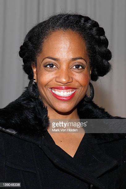 Rhonda Ross attends the B Michael America Fall 2012 fashion show during MercedesBenz Fashion Week at Museum of the City of New York on February 15...