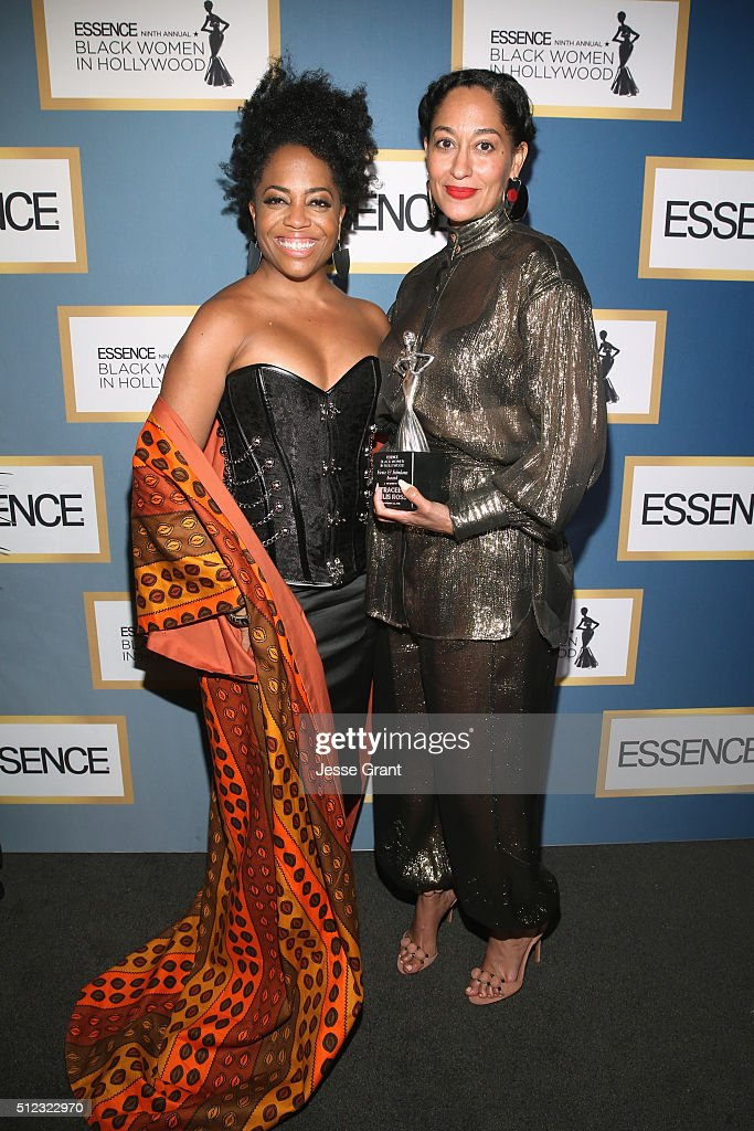 Rhonda Ross Kendrick (L) and Tracee Ellis Ross attend the 2016 ESSENCE Black Women In Hollywood awards luncheon at the Beverly Wilshire Four Seasons Hotel on February 25, 2016 in Beverly Hills, California.