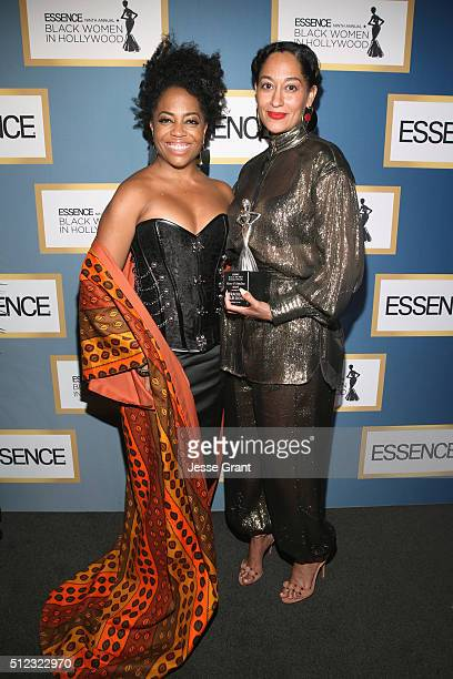 Rhonda Ross Kendrick and Tracee Ellis Ross attend the 2016 ESSENCE Black Women In Hollywood awards luncheon at the Beverly Wilshire Four Seasons...