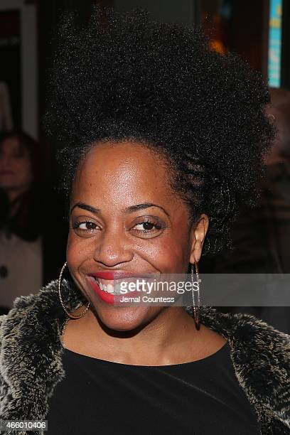 Rhonda Ross Kendrick attends On The Twentieth Century opening night at Roundabout Theatre Company on March 12 2015 in New York City