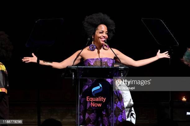 Rhonda Ross Kendrick speaks on stage during the annual Make Equality Reality Gala hosted by Equality Now on November 19 2019 in New York City