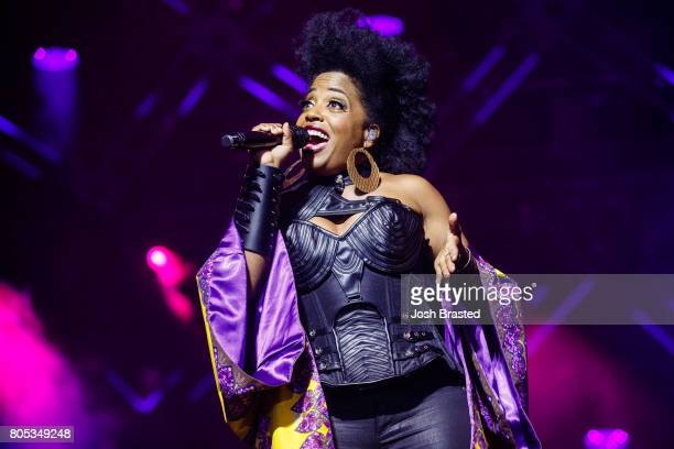 Rhonda Ross performs at the 2017 Essence Festival at the MercedesBenz Superdome on June 30 2017 in New Orleans Louisiana