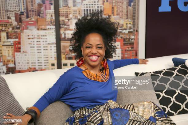 Rhonda Ross visits PeopleNow at PeopleTV Studios on February 21 2020 in New York United States