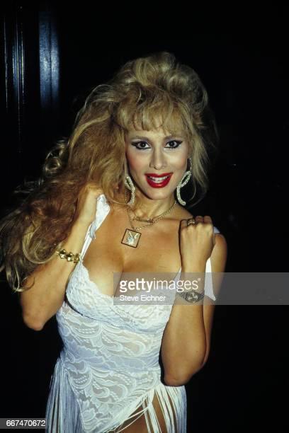 Rhonda Shear at Playboy Party at Club USA New York New York September 16 1993