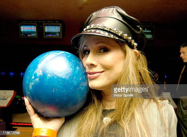 Rhonda Shear during Grand Opening of PINZ Bowling Lanes at PINZ Bowling Lanes in Studio City California United States