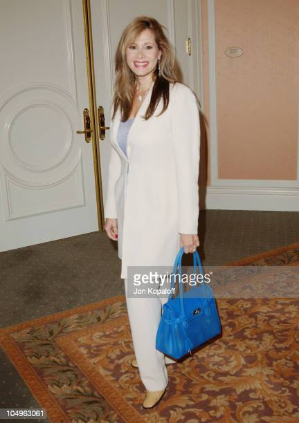 Rhonda Shear during Lupus LA InStyle Magazine Present The Old Bags Lupus Luncheon at The Beverly Hills Hotel in Beverly Hills California United States