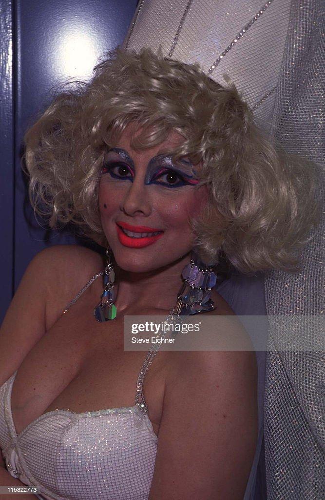 Rhonda Shear at Film Studio - 1995 : News Photo