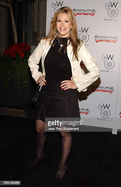 Rhonda Shear during Rodolphe of Switzerland Viper Swiss Watch Collection Launch Party Arrivals at The Westime Store in Beverly Hills California...