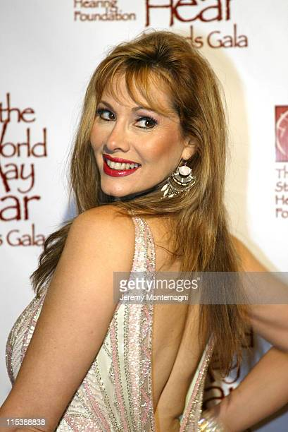 Rhonda Shear during So The World May Hear 2003 Awards Gala at Century Plaza Hotel in Century City California United States
