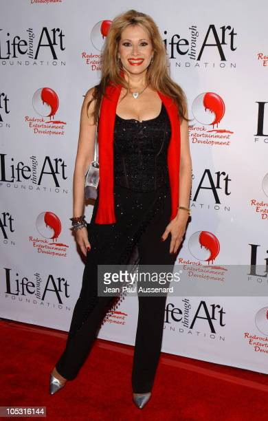 Rhonda Shear during The First Annual Red Party To Benefit The Life Through Art Foundation at Private residence in Holmby Hills California United...