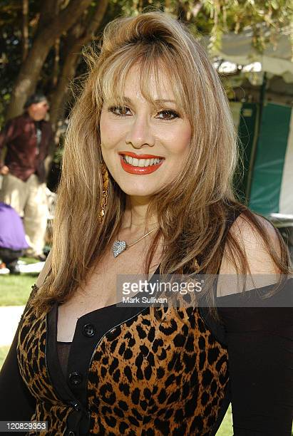 Rhonda Shear during The Wildlife Waystation's Ninth Annual Safari Brunch Benefit at Playboy Mansion in Los Angeles California United States