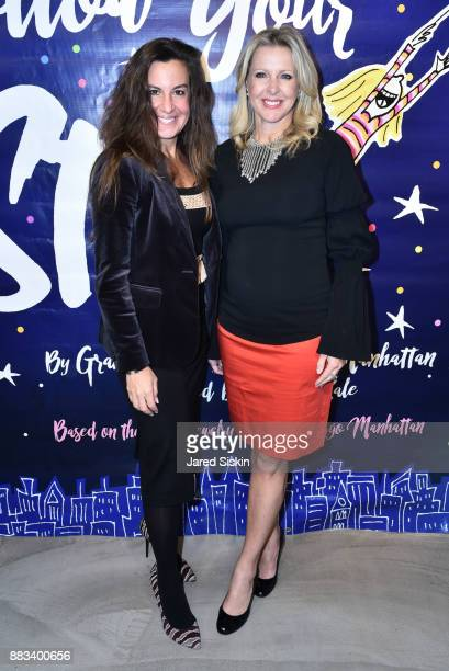 Rhonda Vetere and Cheryl Casone attend Follow Your Star Book Launch at 800 B Fifth Avenue on November 30 2017 in New York City