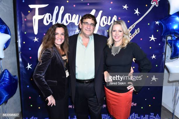 Rhonda Vetere Robert Jeffrey Karpe and Cheryl Casone attend Follow Your Star Book Launch at 800 B Fifth Avenue on November 30 2017 in New York City