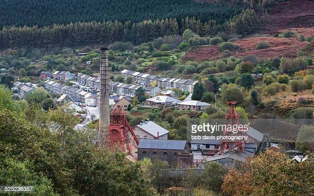 rhondda heritage park - social history stock pictures, royalty-free photos & images