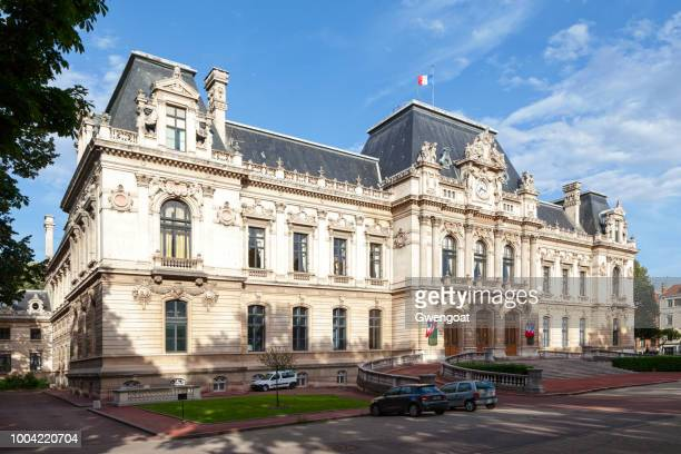 rhone prefecture hotel in lyon - gwengoat stock pictures, royalty-free photos & images