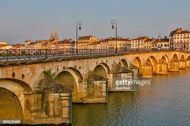 Rhone River Bridge, Macon, France