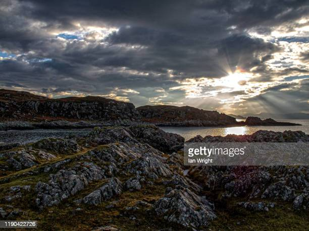 rhue, arisaig #1 - moment of silence stock pictures, royalty-free photos & images