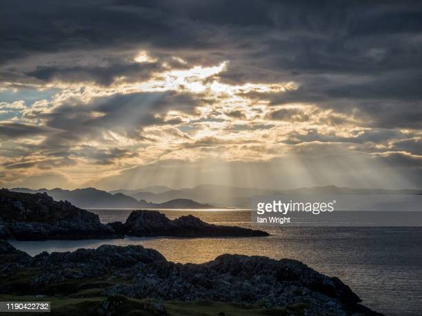 rhue, arisaig #4 - moment of silence stock pictures, royalty-free photos & images