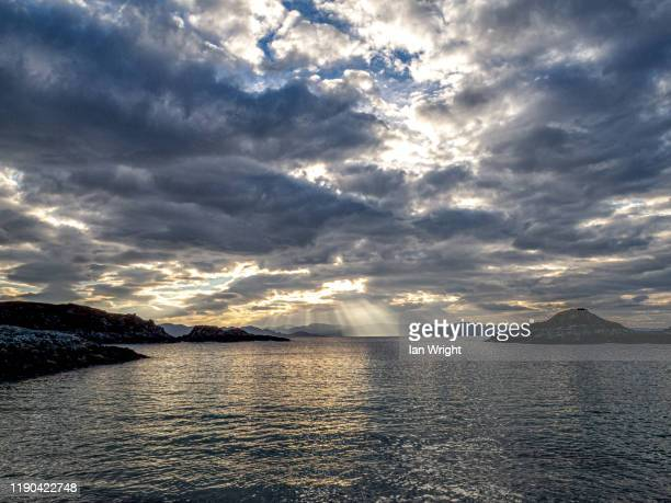 rhue, arisaig  #2 - moment of silence stock pictures, royalty-free photos & images