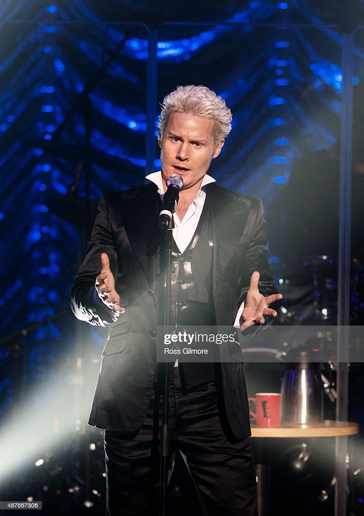 Rhydian Performs At Glasgow Royal Concert Hall : News Photo