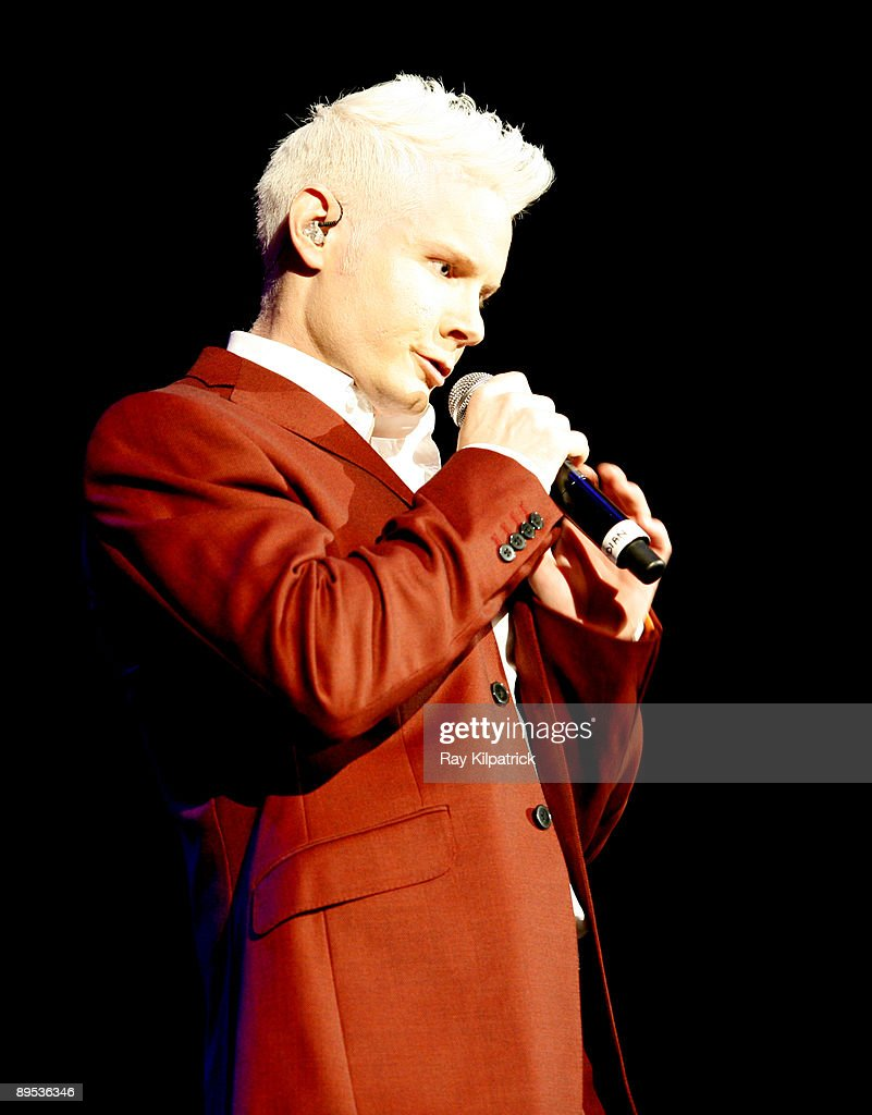 Liverpool Summer Pops 2009: Rhydian Performs At The Liverpool Echo Arena : News Photo