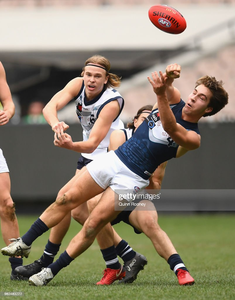 Vic Country v Vic Metro - 2018 NAB AFL Under-18 Championships