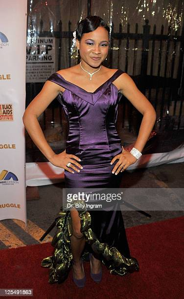 Rhyon Brown attends the 10th Annual Heroes in the Struggle Gala at the Avalon on December 1 2010 in Hollywood California