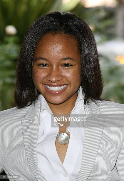 Rhyon Nicole Brown during Disney Channel and ABC Family Host CNG Winter Press Tour at The Ritz-Carlton in Pasadena, California, United States.