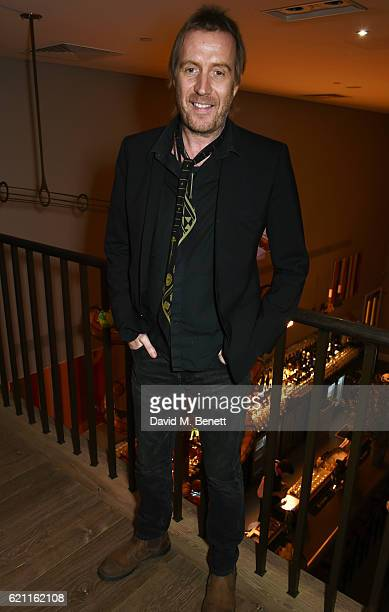 Rhys Ifans attends the press night after party celebrating The Old Vic's production of King Lear at the Ham Yard Hotel on November 4 2016 in London...