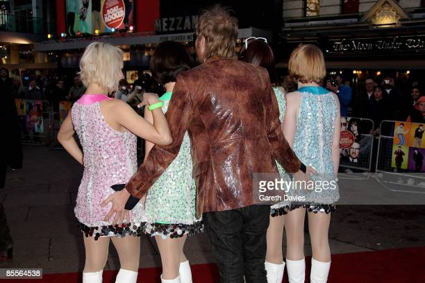 Rhys Ifans attends the world premiere of 'The Boat That Rocked' held at the Odeon cinema Leicester Square on March 23 2009 in London England