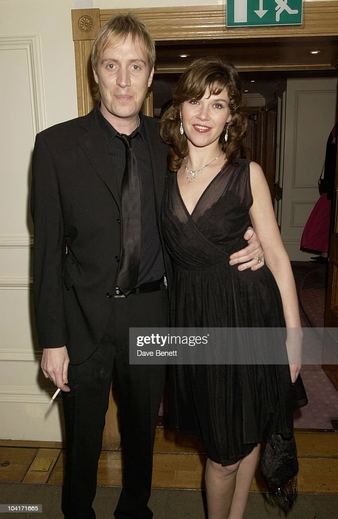 Rhys Ifans & Girlfriend, Evening Standard Film Awards, At The Savoy Hotel, London